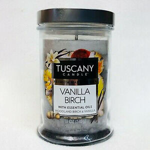 Tuscany Triple Pour Candle Vanilla Birch