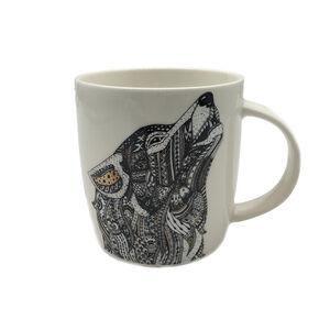 Abney & Croft Howling Wolf Mug 13oz