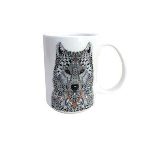 Abney & Croft Wolf Mug 17oz