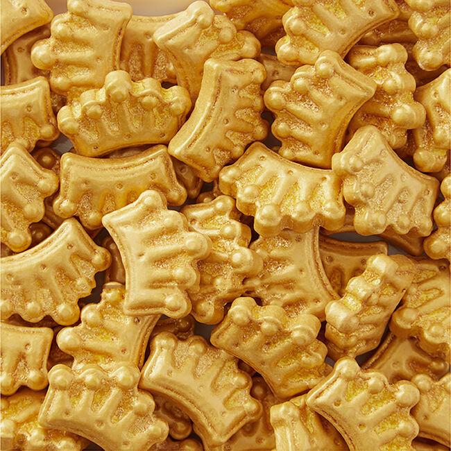 Wilton Sprinkles Gold Crowns