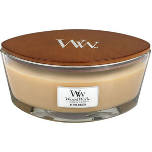 WoodWick At The Beach Ellipse Jar Candle