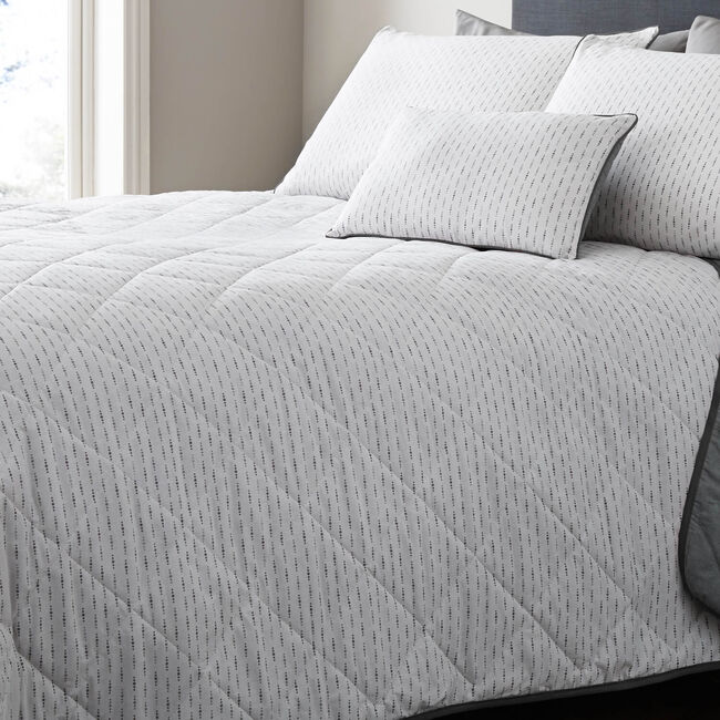 Touch of Class Grey Bedspread