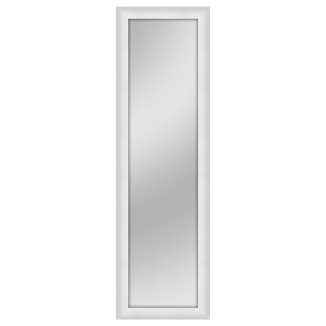 over the door mirror white 30cm x 120cm home store more. Black Bedroom Furniture Sets. Home Design Ideas