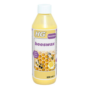 HG 0.5L Yellow Beeswax Polish