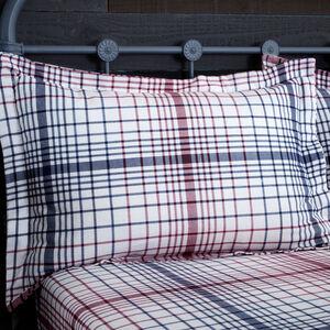 Brushed Cotton Fairisle Stag Pillowcase Pair