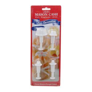 Mason Cash Flower Plunger Cutters 4Pc