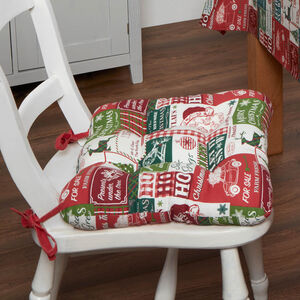 Retro Santa Seat Pad
