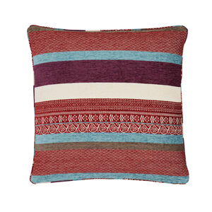 Isla Geo Purple Cushion 45cm x 45cm