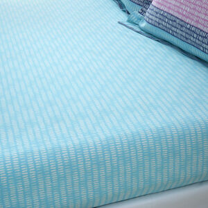 POPPY Double Fitted Sheet