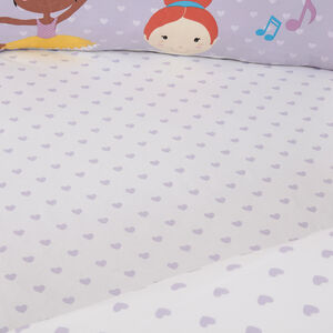 PRINCESS TUTU Junior Bed Fitted Sheet