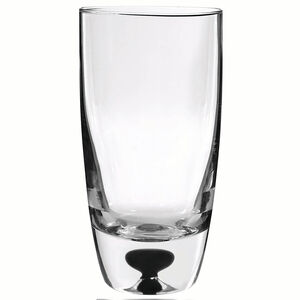Cashel Living Black Core Hi-Ball Glasses
