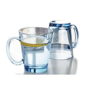Glona Hot Drinks Blue Mugs 2 Pack 300ml