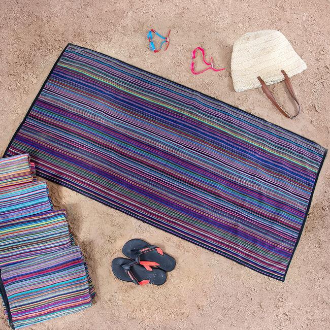Nicole Day Stripe Beach Towel