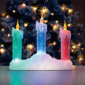 Swirling Glitter Candlebridge