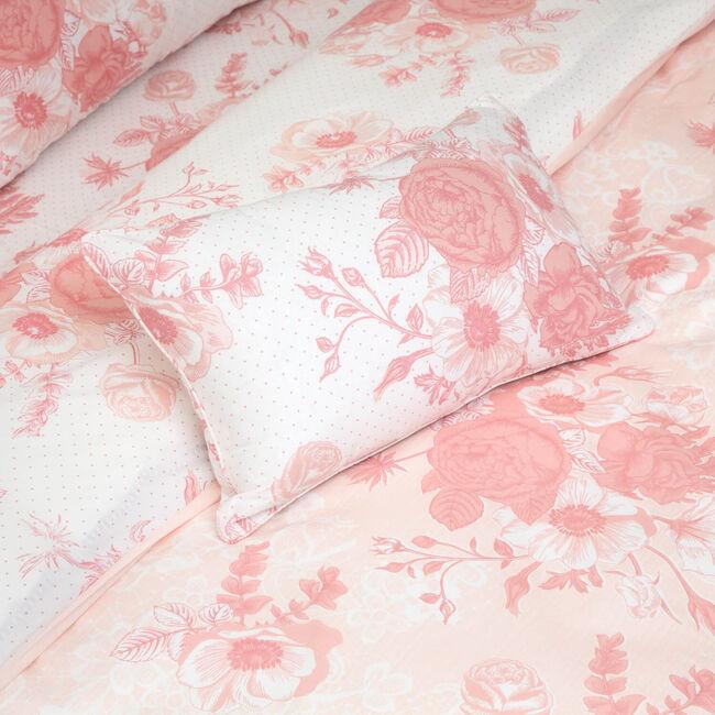 Floral Romance Blush Cushion 30cm x 50cm