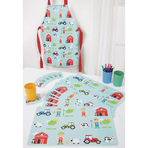 Farm Day Placemats and Coasters 6 Pack