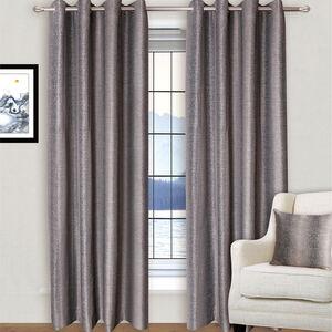 Interlock Black and Bronze Curtain
