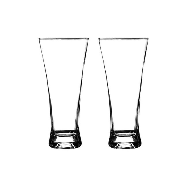 Essentials Lager Glasses 32cl - 2 Pack