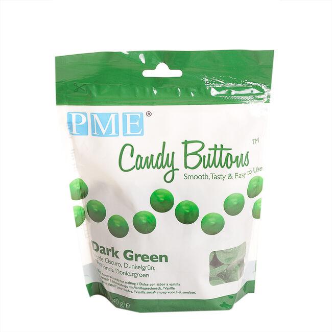 PME Dark Green Candy Buttons 340g