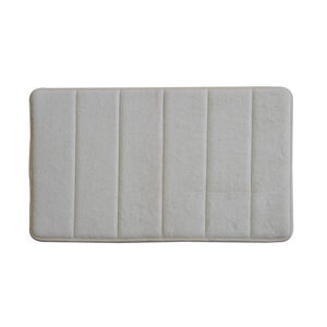 Memory Foam Bath Mat Cream 40cm x 60cm