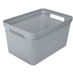 Ezy Mode Basket Stone Grey 17.3L