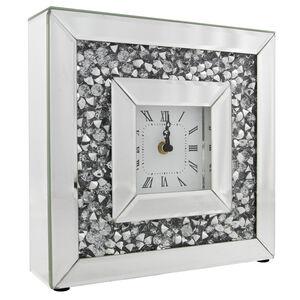 Cashel Living Crushed Diamond Clock