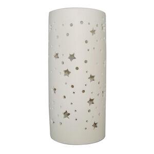 Ceramic Sculptured Stars Table Lamp