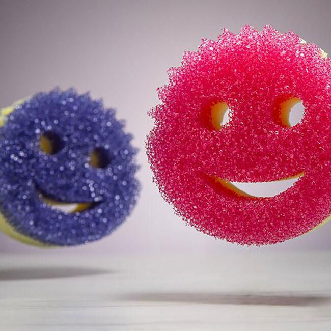 Scrub Mommy Purple Scrubber and Sponge