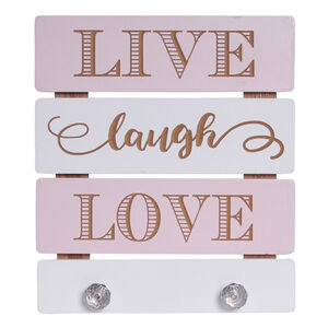 Live Laugh Love Prints with Hooks
