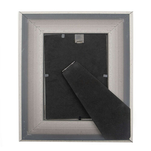 Serena Aged Silver Photo Frame - 6X8""