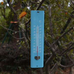Metal Garden Thermometer