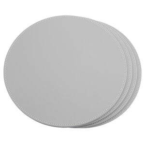 Reversible Round Placemats Duck Egg & Grey