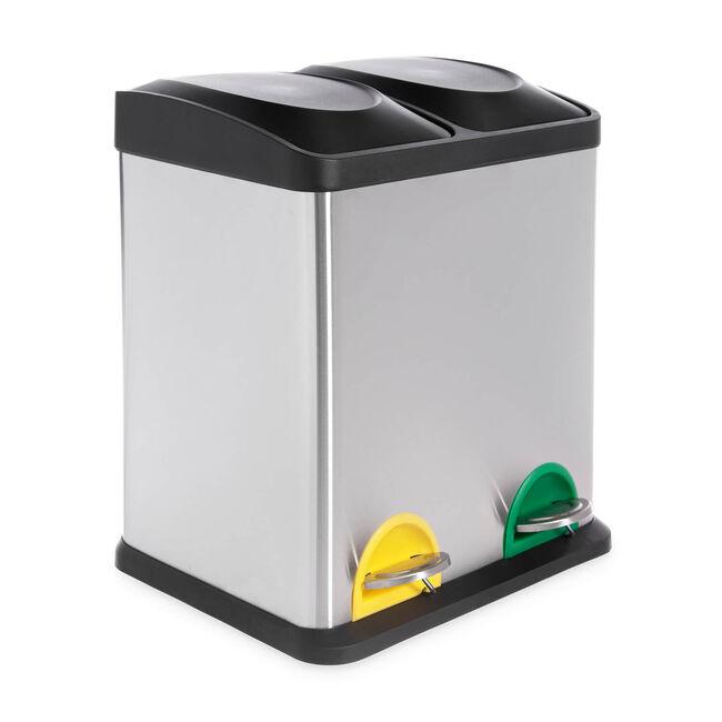 Double Recycling Bin 30L
