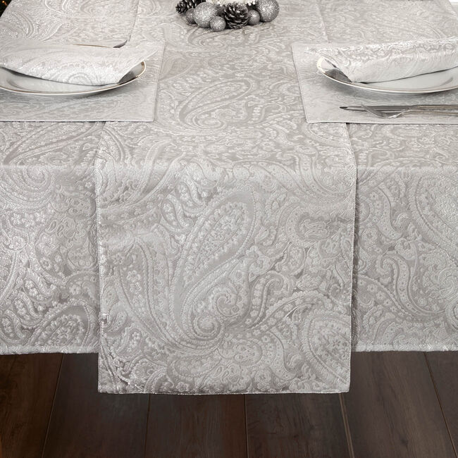 Chantilly Damask Table Runner 229X34cm