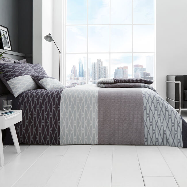 SINGLE DUVET COVER Cian Charcoal