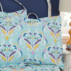300TC Cotton Diana Oxford Pillowcase Pair - Multi