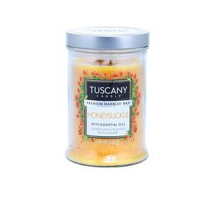 Tuscany Double Wick Honeysuckle Candle 18oz