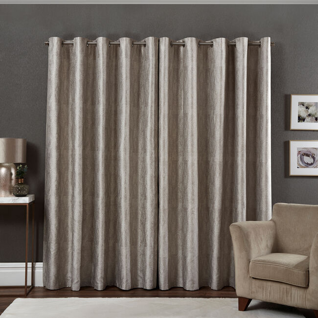 LUREX CHEVRON NATURAL 66X54 Curtain