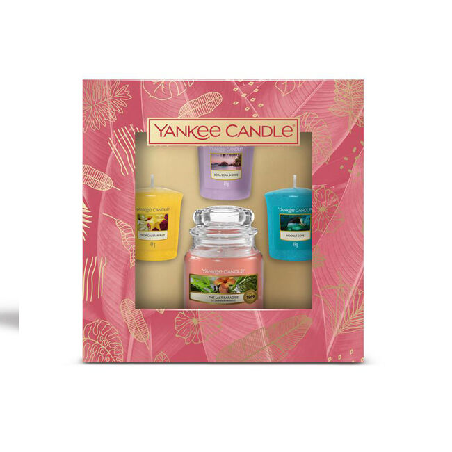 Yankee Candle 3 Votive & Small Jar Spring 2021