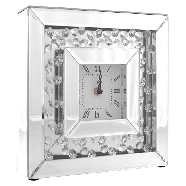 Cashel Living Teardrop Diamond Clock