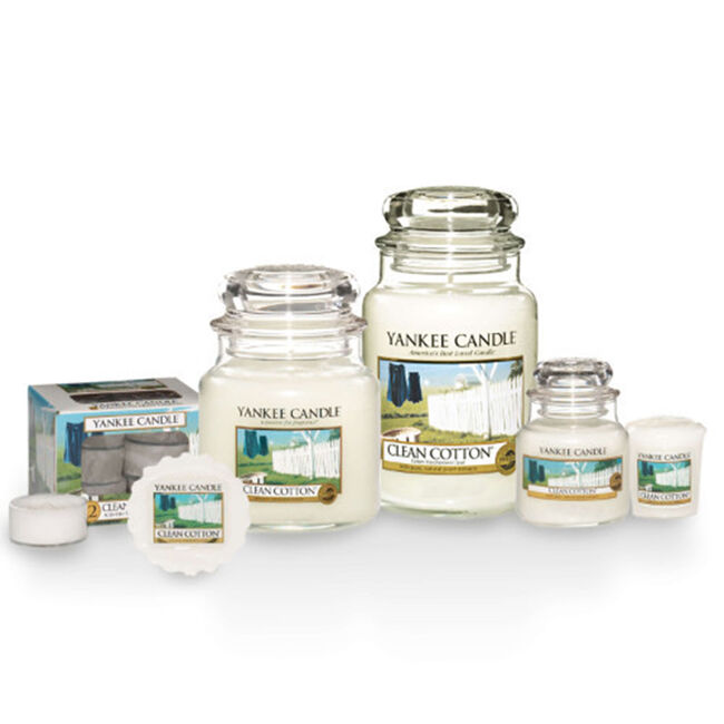 Yankee Candle Clean Cotton Tea Lights