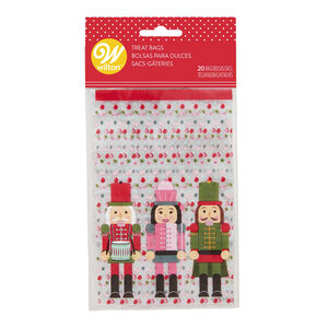 Wilton Nutcracker Mini Treat Bags - Pack of 20