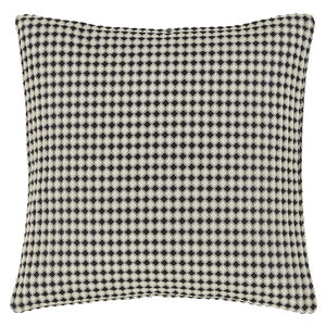 Waffle Raised Black 45x45 Cushion