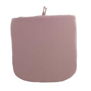 Woven Blush Kitchen Seat Pad