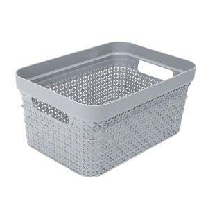 Ezy Mode Small Basket Stone Grey 5L