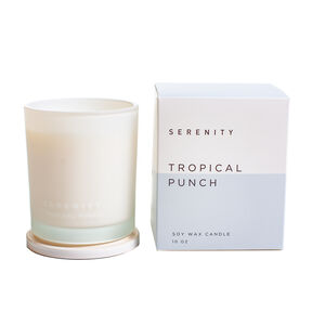 Serenity 10Oz Tropical Punch Scented Candle
