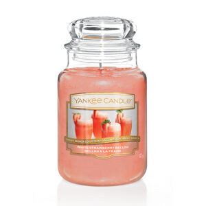 Yankee Candle White Strawberry Bellini Large Jar