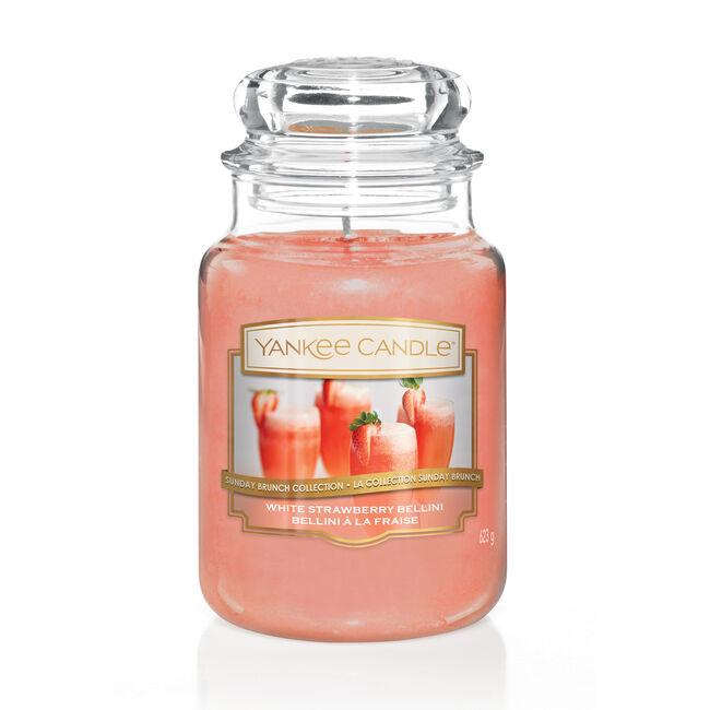 Yankee Candle White Strawberry Bellini Large Jar