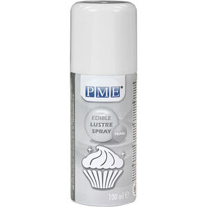 PME Edible Lustre Spray 100ml - Pearl