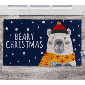 Beary Christmas Doormat 40 x 70cm